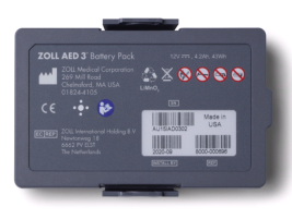 Batterie au lithium Zoll  AED 3 (5 ans)